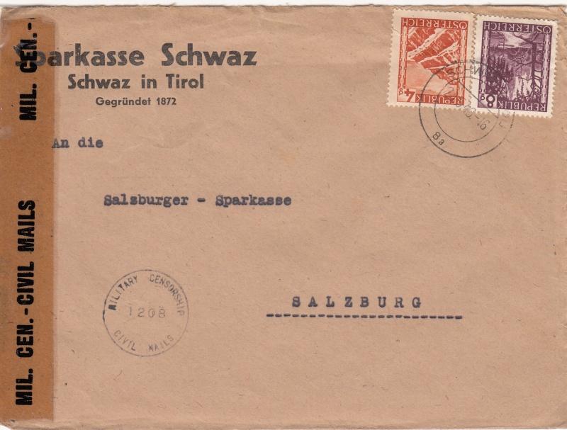 Briefe / Poststücke österreichischer Banken - Seite 2 Img18