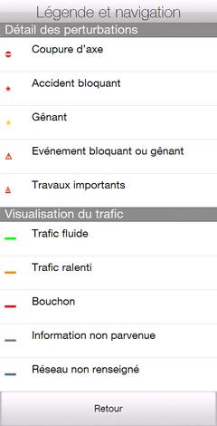 SOFT W-Trafic 1.0.0.0 WM et HD2 ZoomPinch : Trafic des rocades françaises + périph [26-01-2011] Legend12