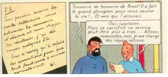 La case mémorable Tintin10