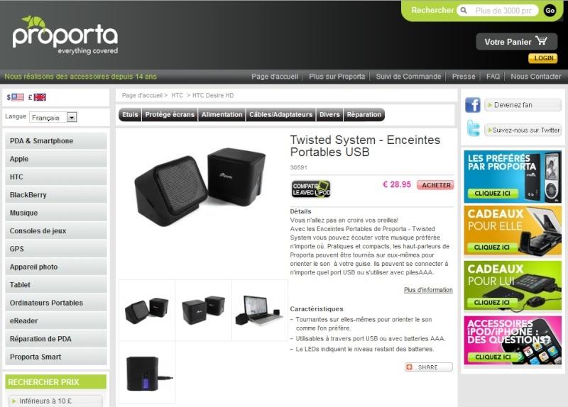 [PROPORTA] Test du twisted System : Enceintes Portables Captur10