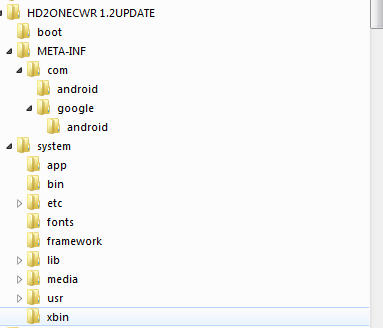 [TUTO] Comment flasher une ROM ZIP avec clockwork recovery sur le HD2 V1.2 - Page 2 Captur12