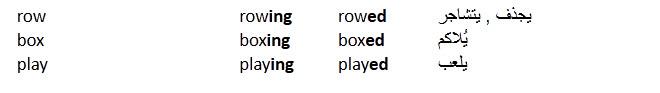 درس الافعال القياسية او الافعال المنتظمة فى اللغة الانجليزية  Regular Verbs in English 710