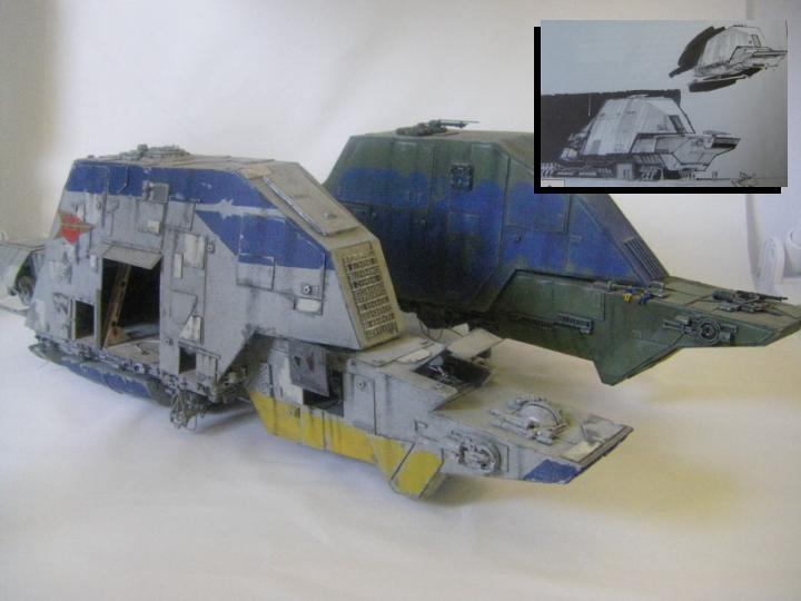 maquettes carton SW,pods,cargot... Diapos10