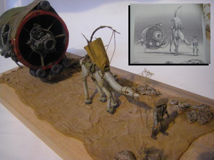 maquettes carton SW,pods,cargot... Doug10