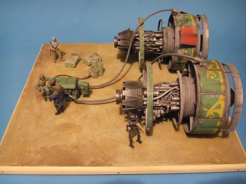 maquettes carton SW,pods,cargot... Imgp6310