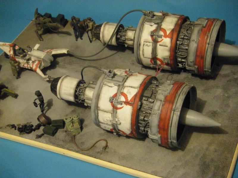 maquettes carton SW,pods,cargot... Imgp6311