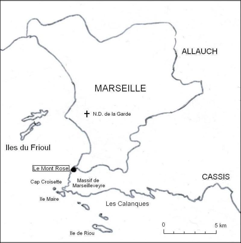 Une balade sur le mont Rose à Marseille Carteb10