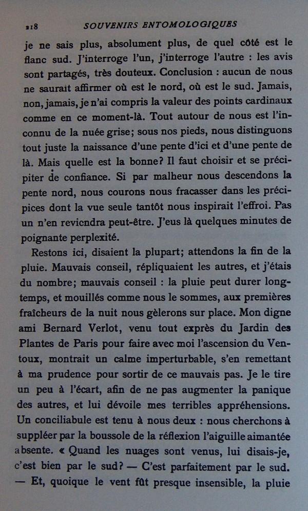 Fabre et le Mont Ventoux - Août 1865 Fv1010