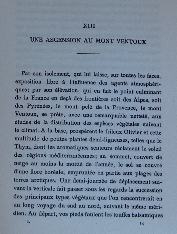 Fabre et le Mont Ventoux - Août 1865 Fv110