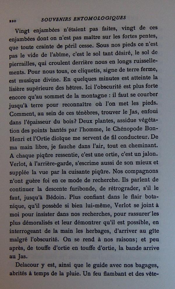 Fabre et le Mont Ventoux - Août 1865 Fv1210