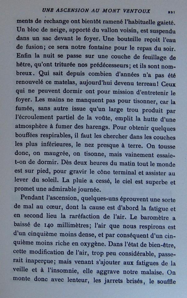 Fabre et le Mont Ventoux - Août 1865 Fv1310