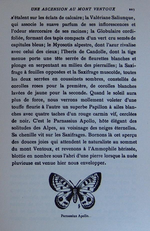 Fabre et le Mont Ventoux - Août 1865 Fv1510