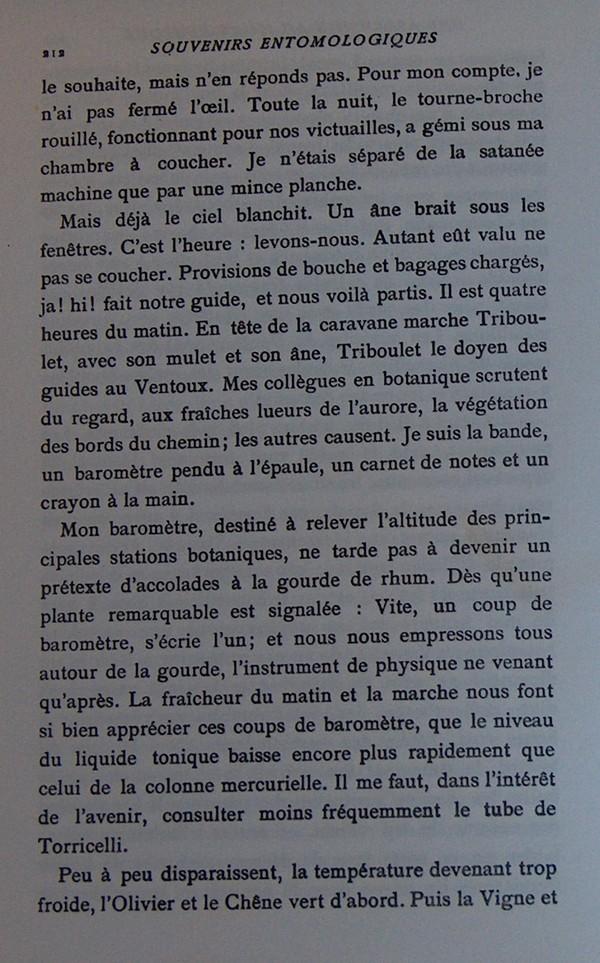 Fabre et le Mont Ventoux - Août 1865 Fv410