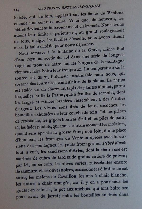 Fabre et le Mont Ventoux - Août 1865 Fv610