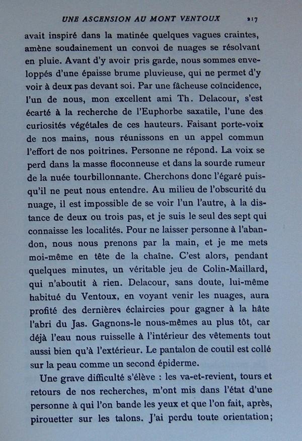 Fabre et le Mont Ventoux - Août 1865 Fv910