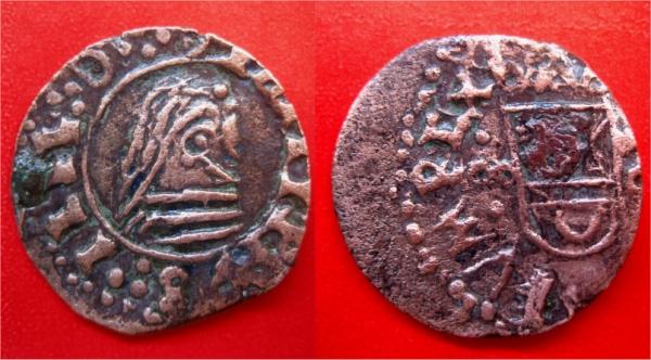16 Maravedís de Felipe IV falsa de época. 16mara10
