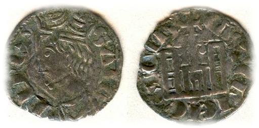 Cornado de Sancho IV (Coruña, 1284-1295). Dinero10