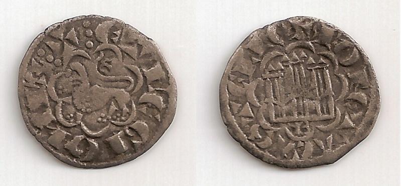 Noven de Alfonso X el Sabio (Burgos, 1252-1284). Moneda10