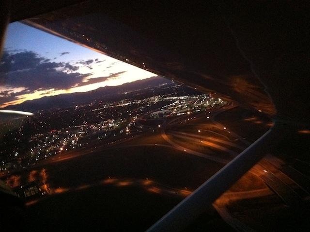 Cessna Seven Sierra Papaaaaaa, clear to land, One Seven Left Img_0812