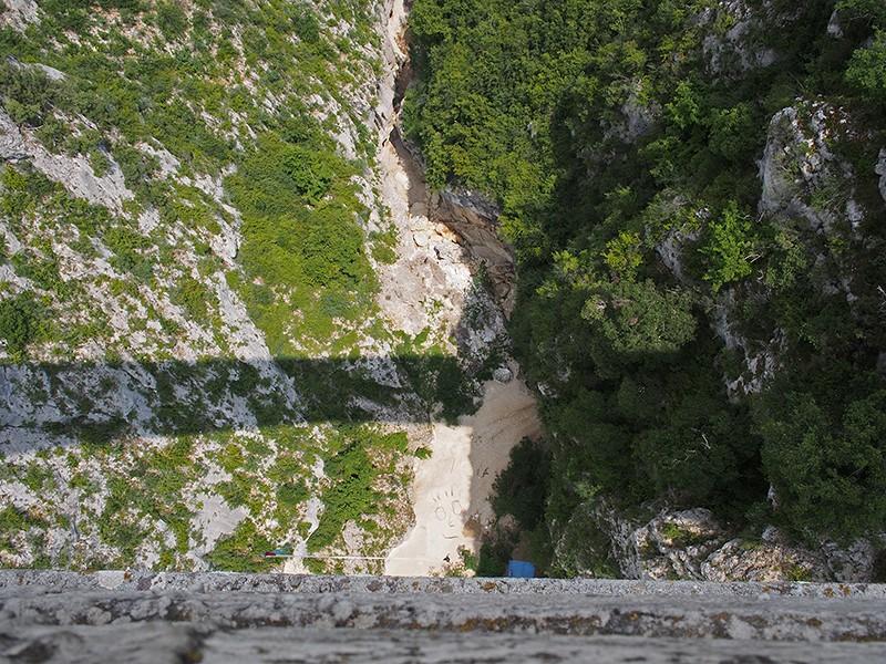 Pont de l'Artuby (saut à l'élastique) P7140010