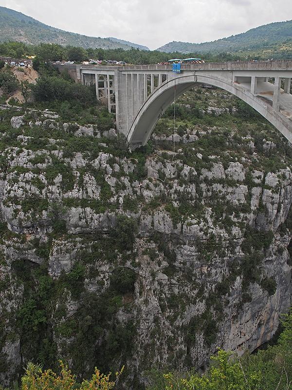 Pont de l'Artuby (saut à l'élastique) P7140014