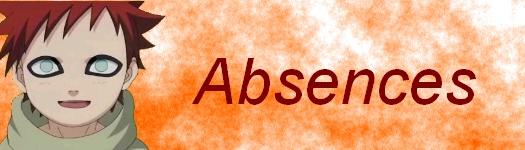Absences...