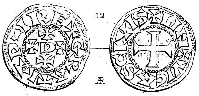 Denier de Limoges Eudes et monnayage immobilisé à son nom (29/2/888-1/01/898 et Xe siècle)  Limoge10