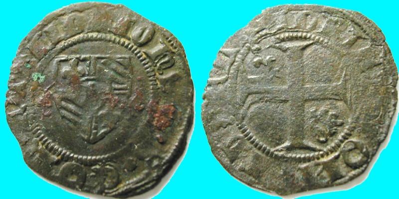 Blanc pour Jean-Sans-peur (1404-1419)  Duché de Bourgogne Piece310