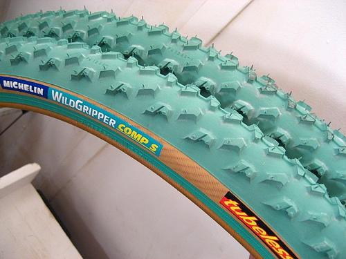 MICHELIN Wildgripper Comp S Verts Neufs Michel10