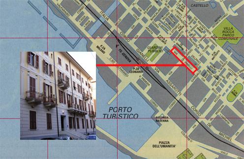 Google map of Italy Cartin10