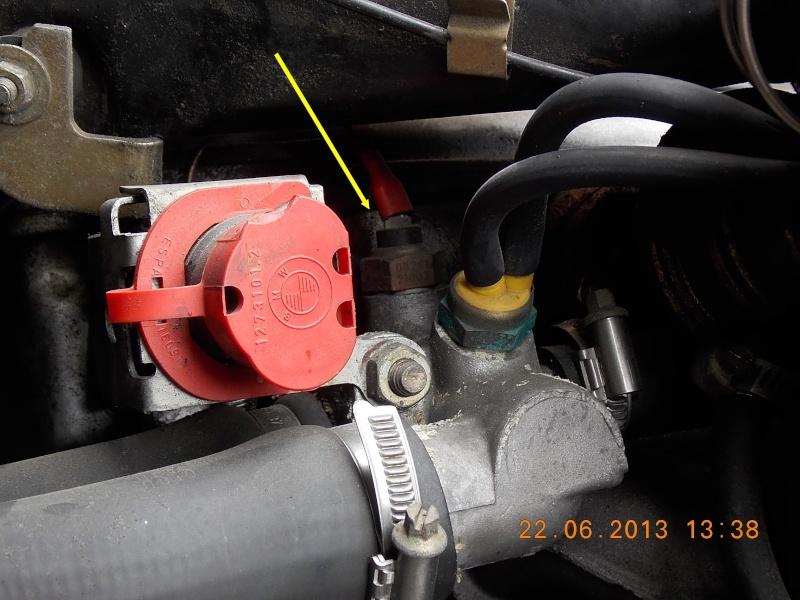 [BMW 316 E30] Témoin de température moteur  Dscn5121