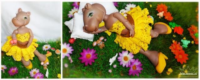 Jeslie Dolls •Leî-Lina petite boudeuse p.38  13/12 Hippo_11