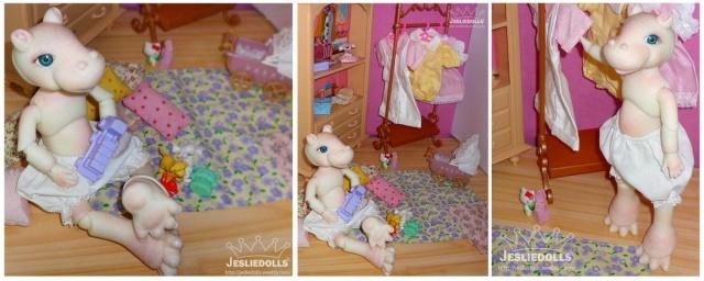 Jeslie Dolls •Leî-Lina petite boudeuse p.38  13/12 Hippo_13