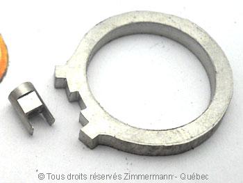 Bague palladium, diamant 15/100 ct et deux saphirs roses Bapabf16