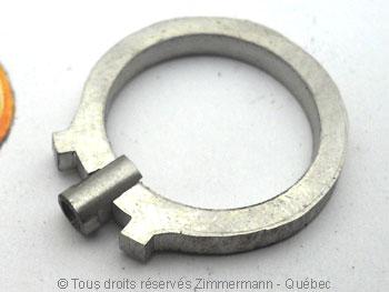 Bague palladium, diamant 15/100 ct et deux saphirs roses Bapabf17