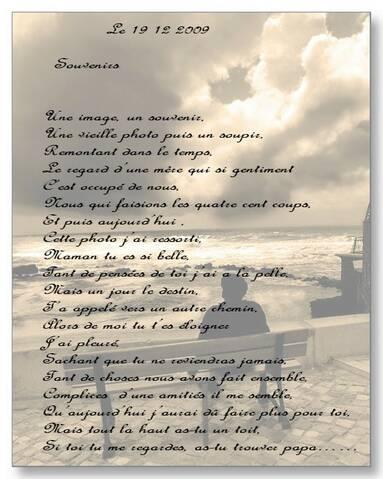 Souvenirs Poeme De Jcl