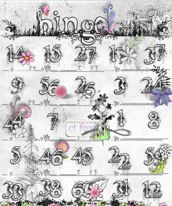 Best Decorated Bingo Card Contest July 8th Cartel10