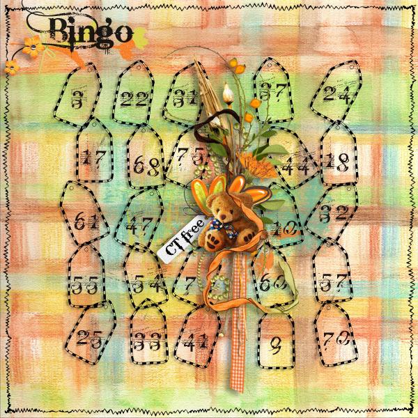 Best Decorated Card - Bingo Sunday 11th 10PM EST Cartel12