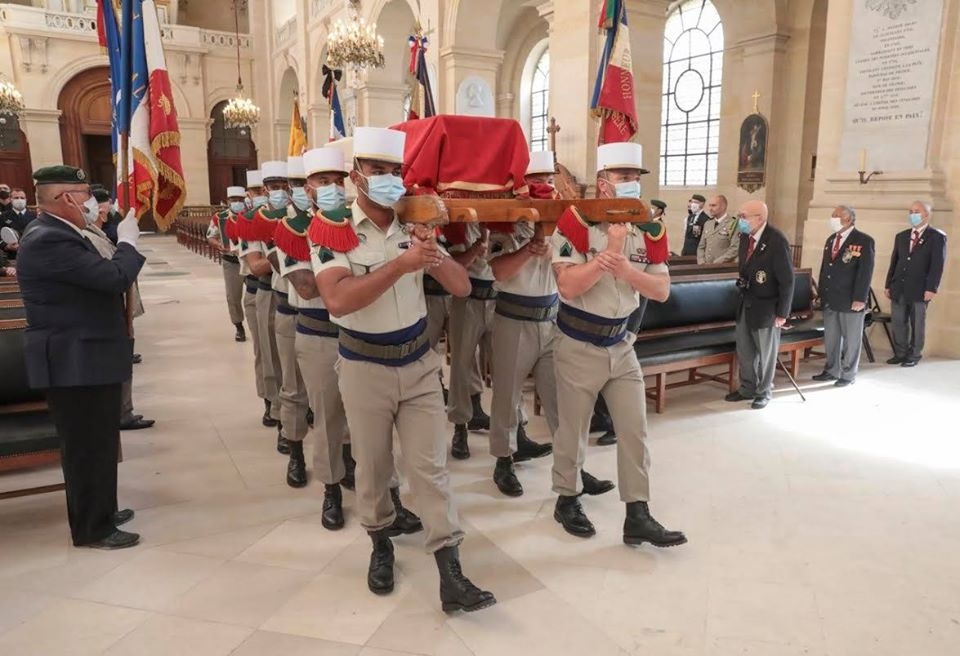 Obsèques du Médecin Colonel Jean louis RONDy 11678910