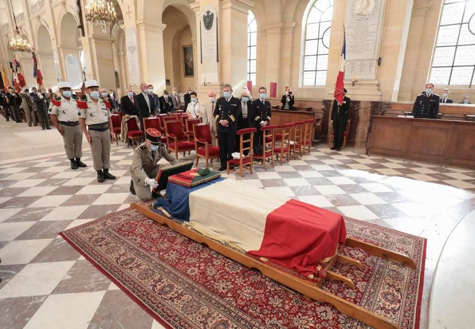 Obsèques du Médecin Colonel Jean louis RONDy 11687510
