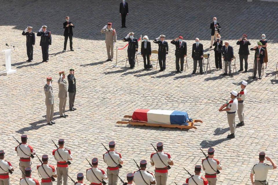 Obsèques du Médecin Colonel Jean louis RONDy 11687810