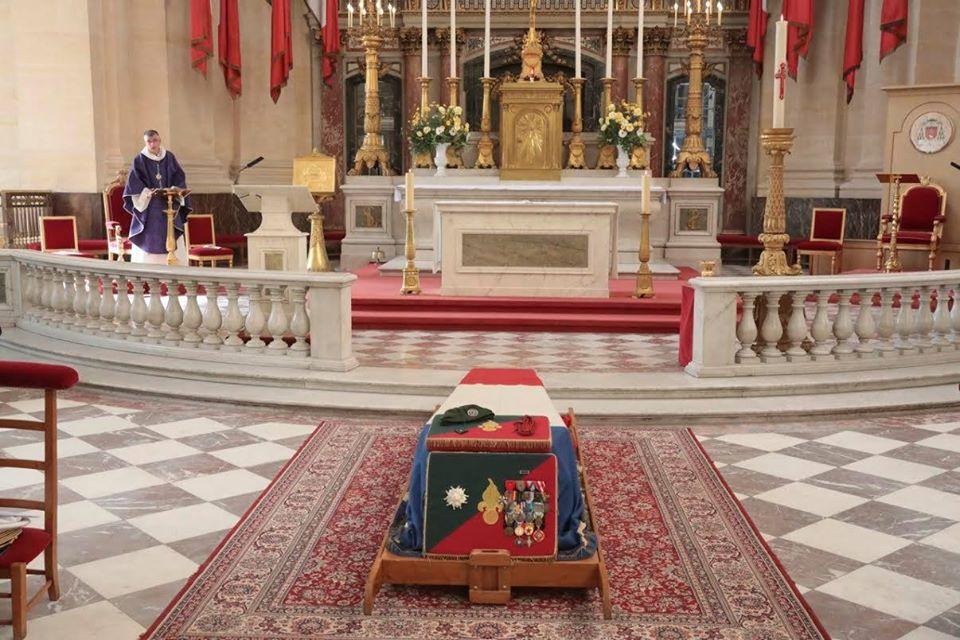 Obsèques du Médecin Colonel Jean louis RONDy 11712011