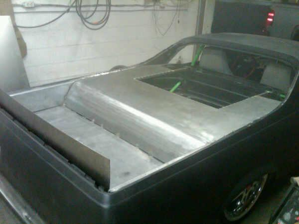 New bed in the El Camino (Progress) L_c88910