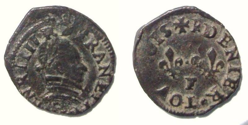 Denier Henri III sd F légende presque complète 3_et_510