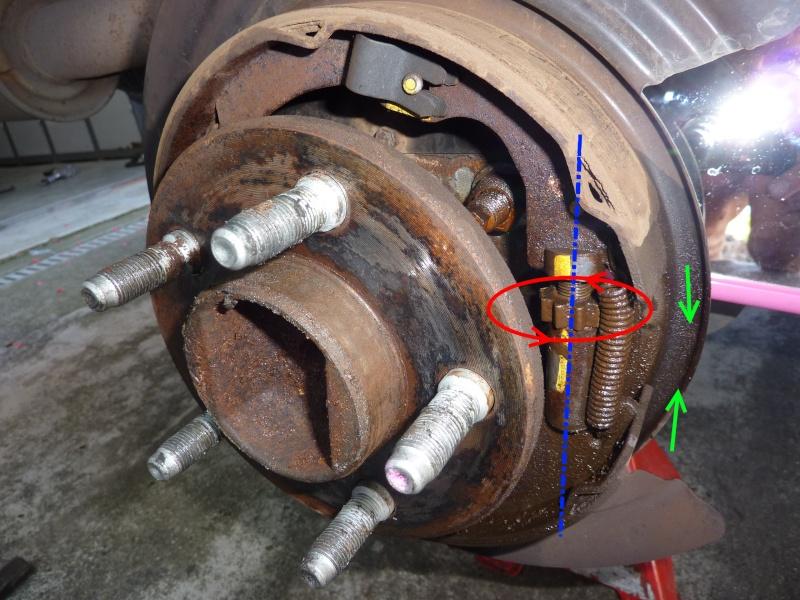 Frein à main - nettoyage mécanisme commande (sans demontage) P1060113