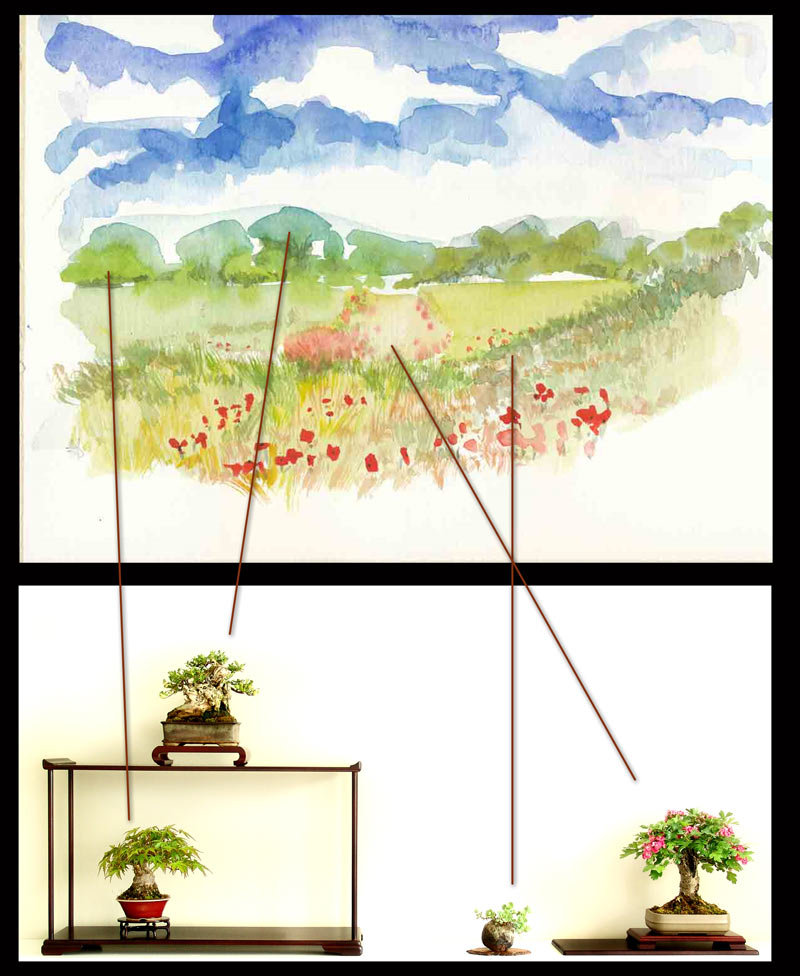 [b]The-front-of-the-bonsai-and-the-three-dimensional-painting[/b] Shohin10