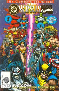 Mas comic de Marvel vs DC Marvel11