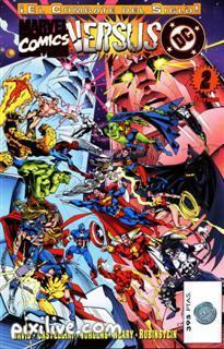 Mas comic de Marvel vs DC Marvel12