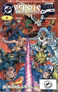 Mas comic de Marvel vs DC Marvel14
