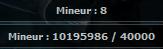 Expérience Mineur Woot10